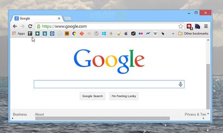 مرورگر گوگل کروم, ترفند گوگل کروم