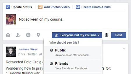 تایم لاین فیس بوک, فیسبوک فارسی