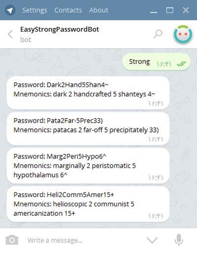 نرم افزار تلگرام, مسنجر تلگرام