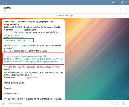 چک کردن ایمیل با تلگرام ,  ربات تلگرام