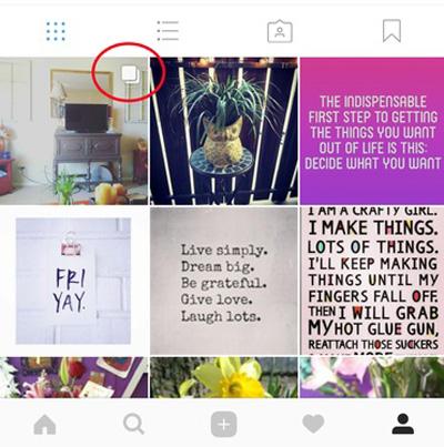 استوریهای اینستاگرامی, چندین تصویر و ویدئو در یک پست اینستاگرامی