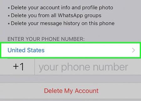 آموزش واتس اپ ,نحوه حذف اکانت واتساپ